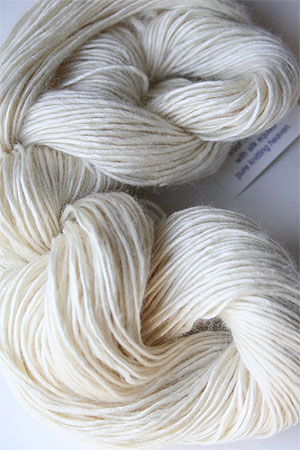 Malabrigo Silky Merino yarn in Natural