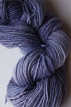 Malabrigo Silky Merino yarn in London Sky