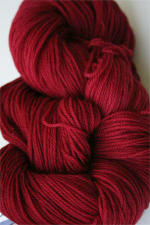 Malabrigo Sock Yarn 100% Merino Wool Sock Weight Knitting Yarn in 611 Ravelry Red