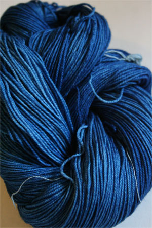 Malabrigo Sock Yarn 100% Merino Wool Sock Weight Knitting Yarn in 806 Impressionist Sky