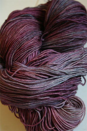 Malabrigo Sock Yarn 100% Merino Wool Sock Weight Knitting Yarn in 120 Lotus