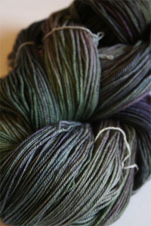 Malabrigo Sock Yarn 100% Merino Wool Sock Weight Knitting Yarn in 863 Zarzamora