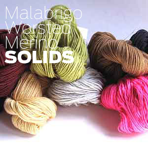 Malabrigo Merino Wool in Variegated Multicolor Yarn