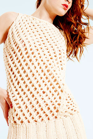 army of knitters ERQUY Knitted Camisol pattern