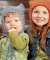 Kids Kitty Cat Hat Knitting Pattern