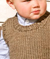 Lil Man Vest Kids Knitting Pattern
