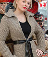 Blue Sky Alpacas Knitting Pattern for Fitted Jacket