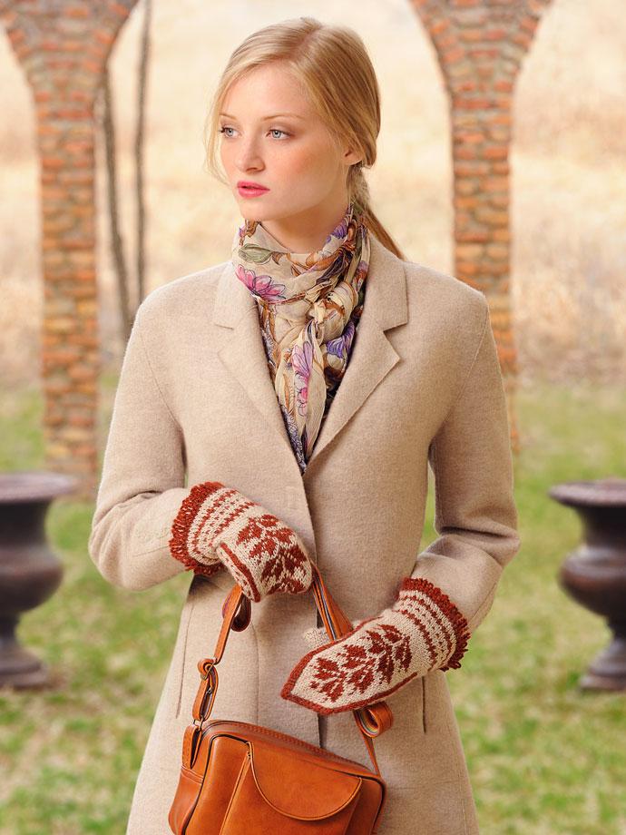 Blue Sky Baby Alpaca Sport Weight Olgas Mittens Knitting