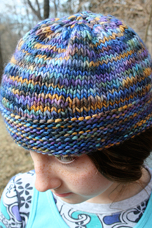 Free Knitting Pattern The Harry Potter 4-chapter Beanie Hat