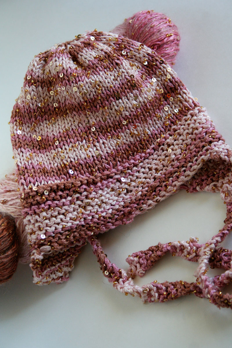 Knitting Pattern For Lace Baby Hat : Free Knitting Pattern Very Easy Baby Hat