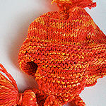 Cute Pom and Tassle Hat  Pattern