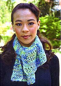 artyarns scarf pattern