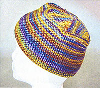 Knitting Pattern Top Hat : Artyarns Pattern P51 Flat Top Hat Scarf