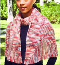 shawl knitting pattern