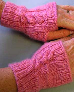 Cashmere Wristers