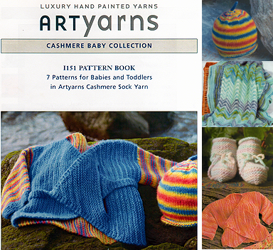 Cashmere Sock Baby Pattern Book
