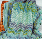 Artyarns Cashmere Crochet or Knit Baby Blanket