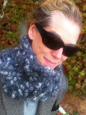 Free Knitting Pattern For Pixiedust Cowl In Super Bulky Handspun Yarn