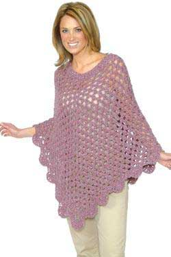 Free Crochet Pattern - Crochet Poncho - Crafts - Free Craft