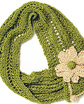 Free Scarf Knitting Pattern for Urban Silk Yarn