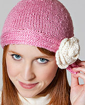 Free Hat Knitting Pattern for Urban Silk Yarn