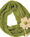 La Fleur Free Knitting Pattern for Urban Silk Yarn