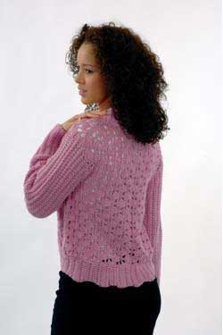 A crochet pattern for Rainbow self pattering boucle |