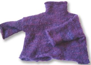 Kids Funnel Neck Sweater Pattern