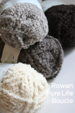 Pure Life Boucle by Rowan Yarn