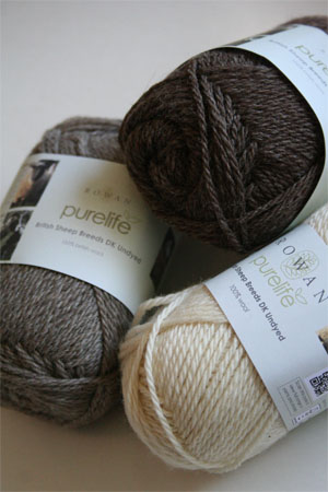 Pure Life British Sheep Breeds DK Undyed from Rowan Yarns