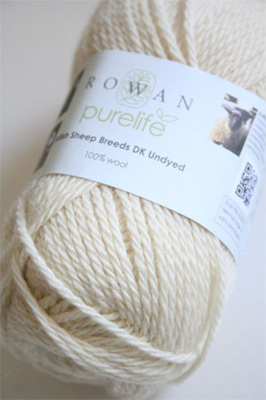 Pure Life British Sheep Breeds Blue Faced Leicester DK Undyed from Rowan Yarns
