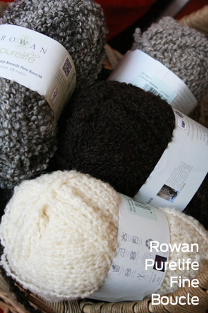 Pure Life Fine Boucle Yarn From Rowan Yarns