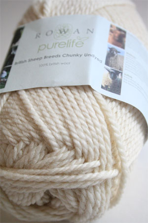 Pure Life British Sheep Breeds Chunky Undyed from Rowan Yarns