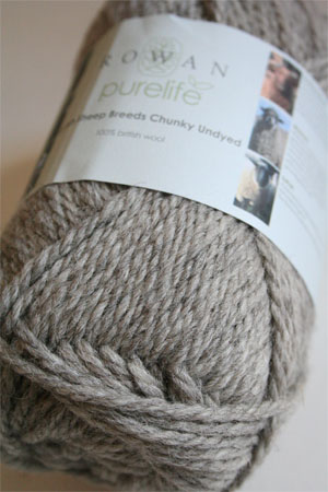 Rowan Pure Life British Sheep Breeds - Chunky Undyed in 954 Steel Grey Suffolk