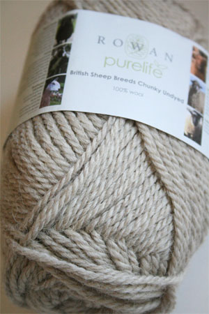 Rowan Pure Life British Sheep Breeds - Chunky Undyed in 957 Light Masham
