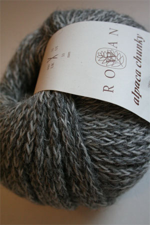 Alpaca Chunky yarn from Rowan Yarns in 79 Magpie