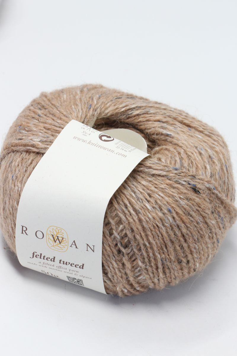 Rowan Yarns Felted Tweed Camel 157 Fabulous Yarn