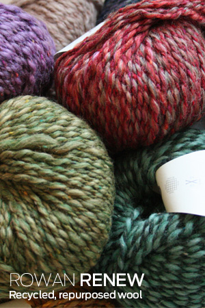 RENEW Recycled Wool Yarn from Rowan