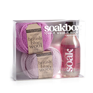 Soakbox from SOAKWASH by erika knight kit gift box!
