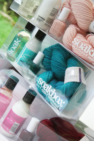Soakbox from SOAKWASH Special Soak for Handknits gift set
