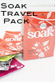 soak wash travel pack