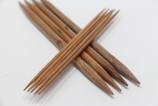 Surina Wood Double Point Needles