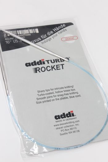 Addi turbo rockets circular needles
