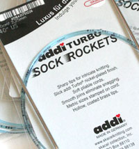 Addi Sock Rocket Circular Needles