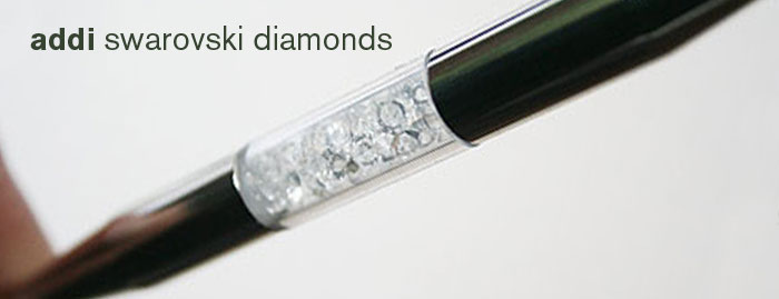 Addi ART Collectible Swarovski Diamonds Needle