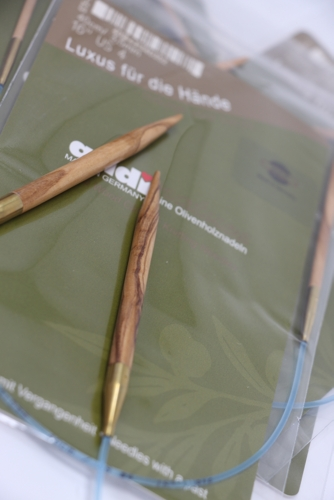 Addi Interchangeables | Olivewood Circular Needles
