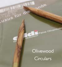 Addi Olivewood Circular Needles