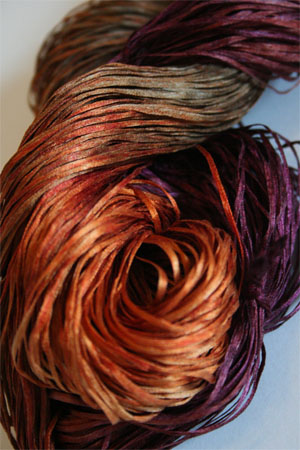 Silken Straw Indian Paintbrush By Alchemy Yarns At