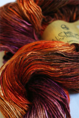Alchemy silkpurse Yarn in Indian Paintbrush