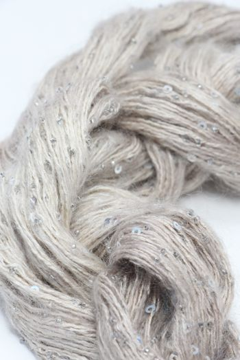 Artyarns Beaded Mohair with Sequins | 2257 Bone (Silver)